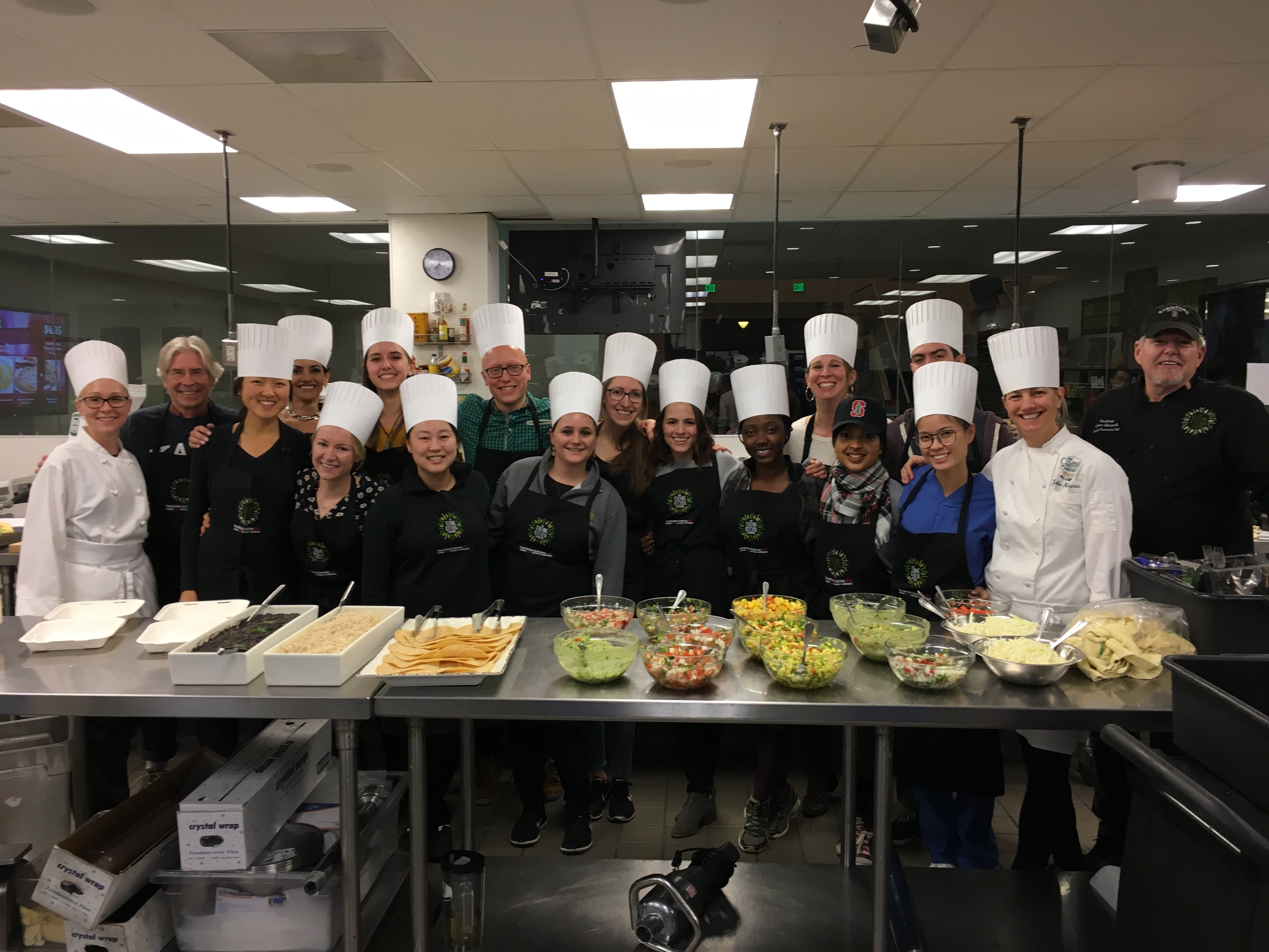 Stanford Teaching Kitchen Elective for Medical Students