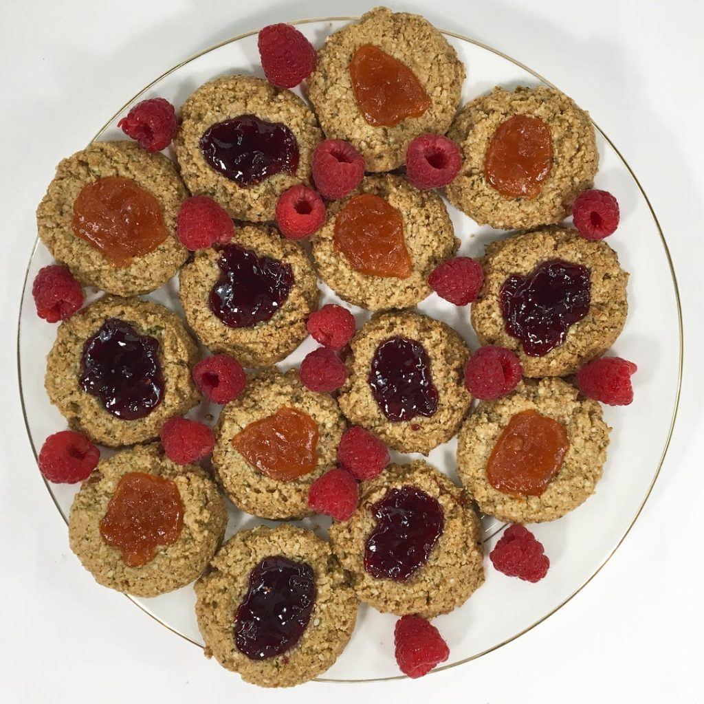 Almond Thumbprint Cookies - Chef in Medicine